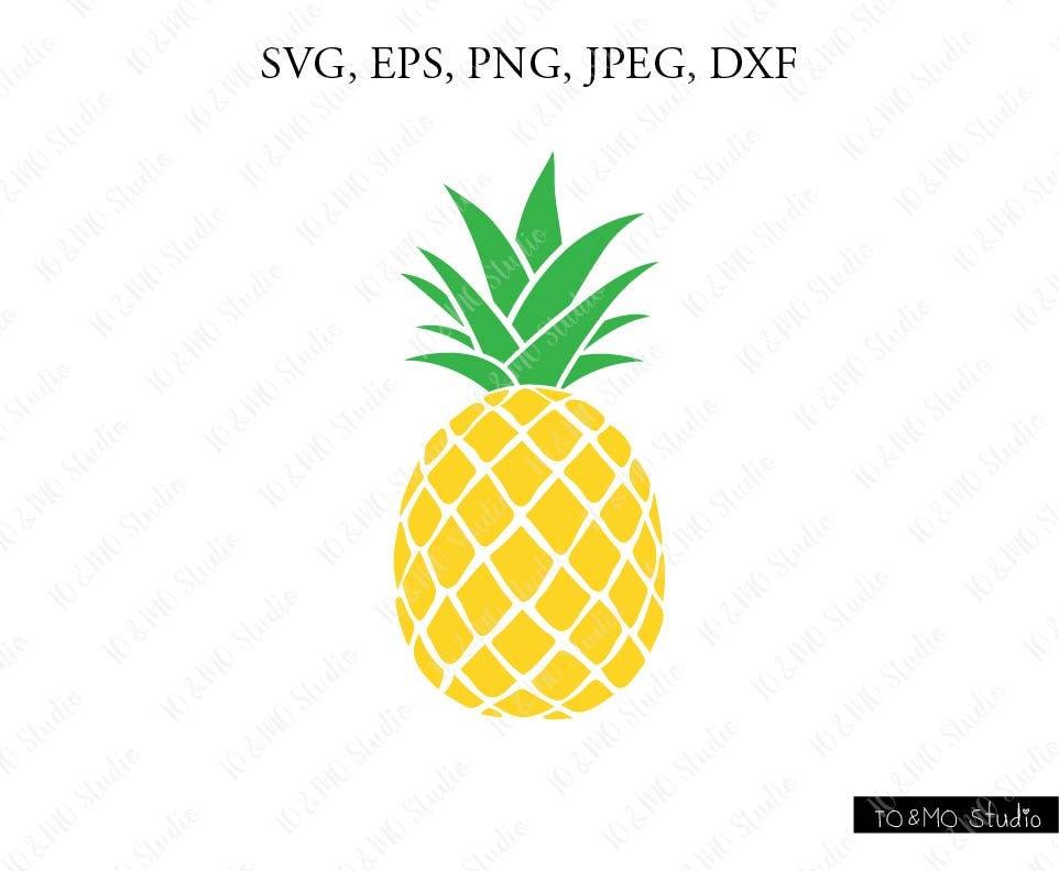 pineapple svg pineapple clipart pineapple print svg svg rh etsy com pineapple clip art outline pineapple clipart cricut