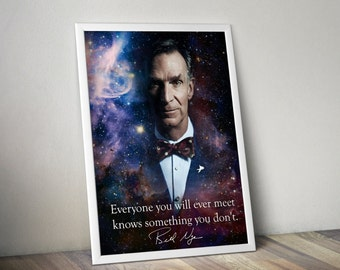 Bill Nye Inspirational Poster