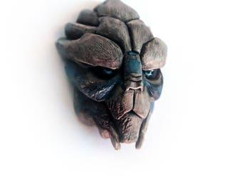 Garrus Vakarian (brooch/magnet)