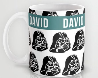 Star Wars Mug, Customized Gift, Boyfriend Gift, Personalized Mugs, Darth Vader gift, Kids gift, Birthday present, geek gift
