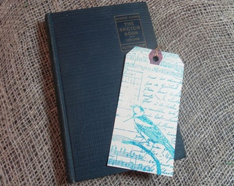 The Sketch Book of Washington Irving edited by Elmer E. Wentworth 1928 with bookmark