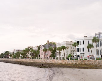 Houses on the Charleston Battery