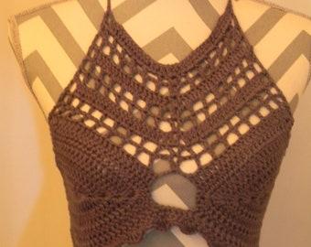 Crochet Crop Top 26 A Cup