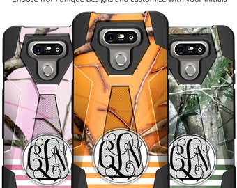 LG G6/ G6 Plus Kickstand Case [Custom Camo Design]