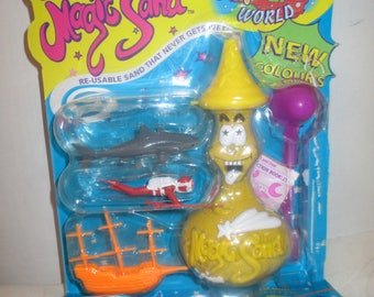 Mooses Magic Sand Underwater Shipwreck World Playset (1994)
