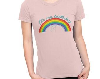 Women's Birthday T Shirt - IT'S MY BIRTHDAY