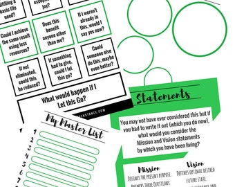 Life Audit Guided Journal