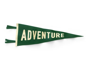 Adventure Pennant Flag