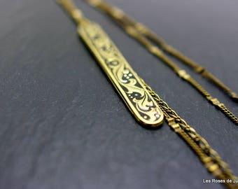 Necklace art deco Cora, long necklace