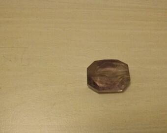 Drilled Amethyst stone.