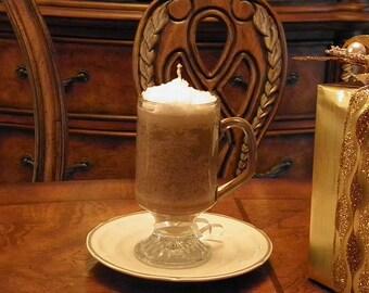 Cappuccino Mug Candle