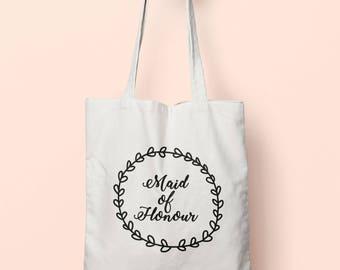 Maid Of Honour Tote Bag Long Handles TB1221