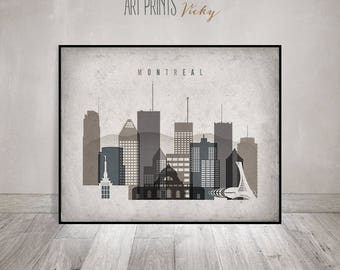 Montreal poster | Etsy
