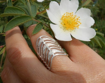Fancy ring, silver 950, ring, gift for woman