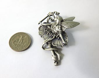 JJ Fairy with Wand Brooch