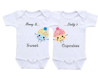 Bébé jumeaux bébé cadeaux garçon fille Twin tenues garçon fille jumeaux garçon fille jumeaux enfants jumeaux enfants jumeaux Frédéric don de tenue de twin bébé jumeaux
