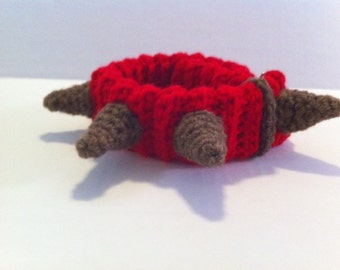 Spiked Dog Collar Crochet Pattern Not Just for Dogs