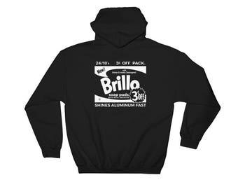 Andy Warhol 'Brillo Box' Hooded Sweatshirt
