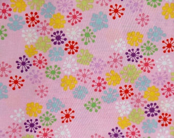 KOKESHI CONFETTI PINK, Alexander Henry, 100% Cotton Quilting Fabric Apparel, Fabric by the Yard