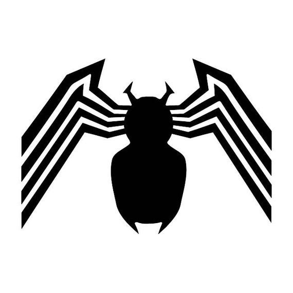 258 Venom Spider Any Size Or Color Custom Cut Vinyl Decal