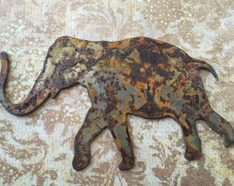 The Elephant Walk ,Rusty Home Decor, Elephant Symbol , Elephants , Farm Animals, Safari Animals, Animal Signs, Elephant Stencils, Safari
