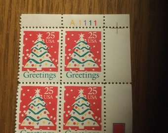 Greetings 25 cent Postage Stamps