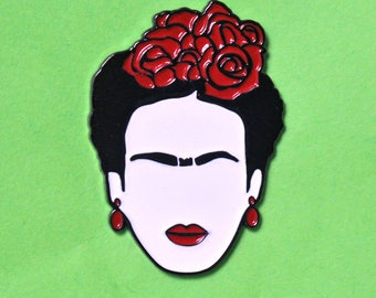 Frida Kahlo Cejas enamel pin - enamel pins