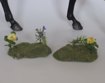 LSQ Flower landscape sections Breyer Peter Stone model horse props