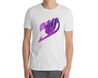 Fairy Tail Ainme Galaxy Cosplay Logo T Shirt