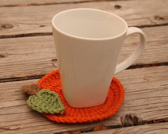 Pumpkin Coasters 6 ct