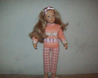 clothes for dolls finouche (sweater and Capri pants)