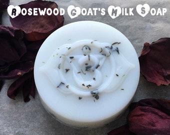Rosewood Goat's Milk Soap