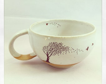 Take Flight Tea Cup