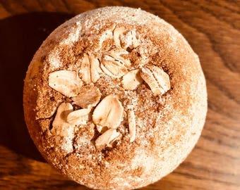 Oatmeal, brown sugar bliss; bath bomb