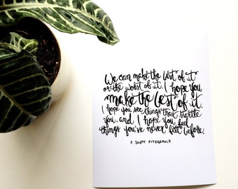 Make the Best of It print