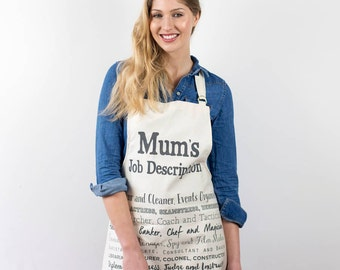 Gift for Cook - Mothers Day Gift - Mothers Day Poem - Apron for Women - Apron with Poem - Mum Gift Birthday - Mothers Day Apron