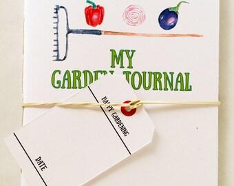 Pocket Garden Journal:  Veggie Style Collection 20