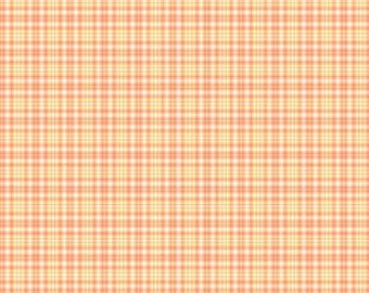 Orange Plaid from Andover Fabric's Modern Plaids Collection
