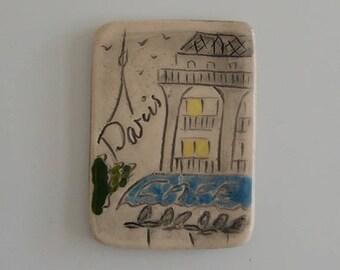 Cafe Paris magnet