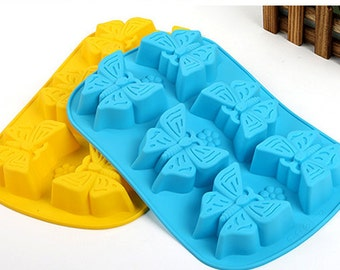 Butterfly  Ice Tray Ice Mold Silicone Mold For Ice Soap Ice Cube kitchen supplies