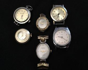 Wholesale Watch Lot: Face Value