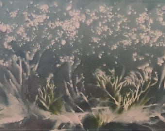 Under the Waves 40x120cm by Naomi Crowther
