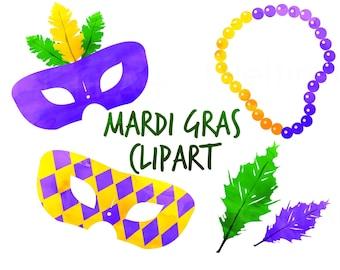 mardi gras clip art etsy rh etsy com mardi gras clip art images mardi gras clip art no background