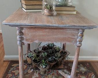 Victorian Farmhouse Side Table