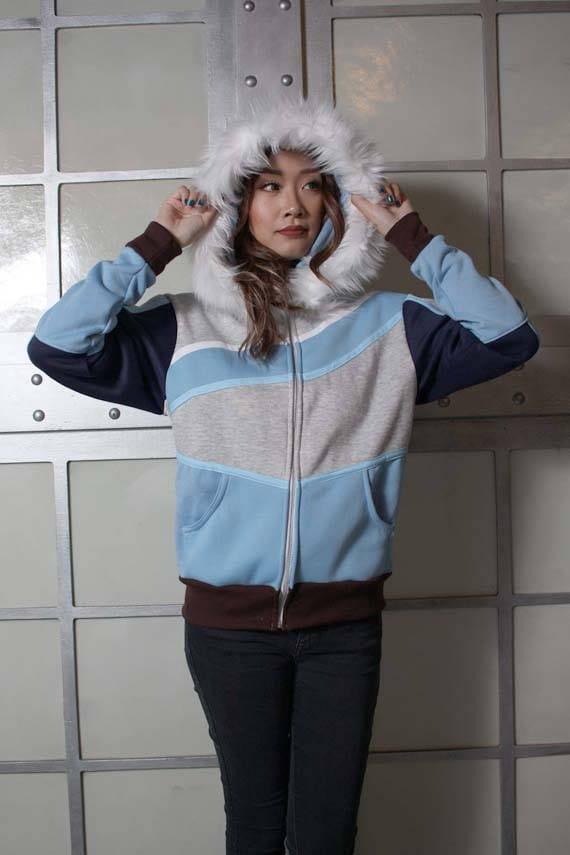 Mei Overwatch Cosplay Costume Coat Hoodie Jacket nzUgf8HFx