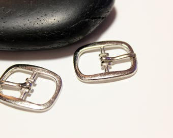 Set of 10 clasps for shoulder or flat leather