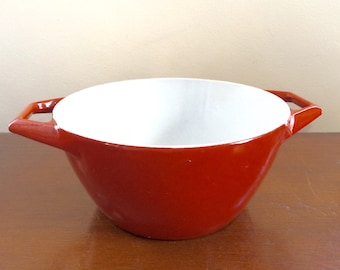 Copco Danish Modern Cast Iron Red Cookware by Michael Lax