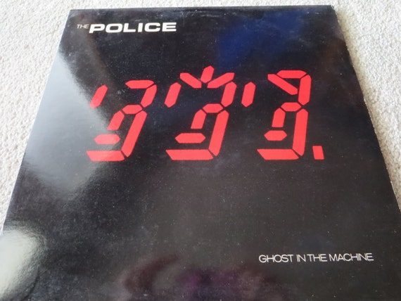 David Jones Personal Collection Record Album - The Police - Ghost In The Machine