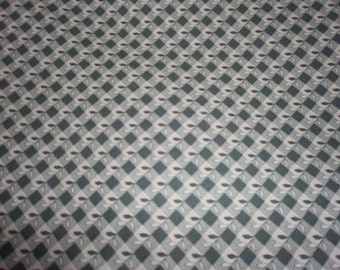 Light Green Print Fabric - Sold by the half yard