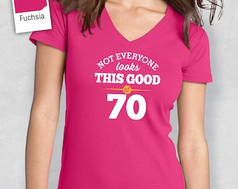 70th Birthday, 1947 Birthday, Shirt, T Shirt, For Her, 70th Birthday Idea, 70th Birthday Present, Birthday Gift. 1947 Birthday, 1947 Shirt